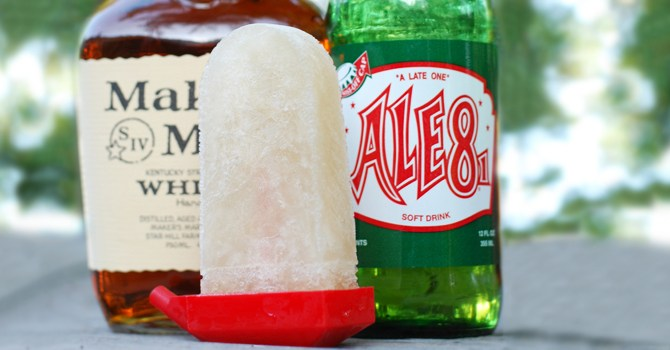 bourbon-diet-soda-pop-coke-ginger-ale-sprite-frozen-treat-popsicle-spry