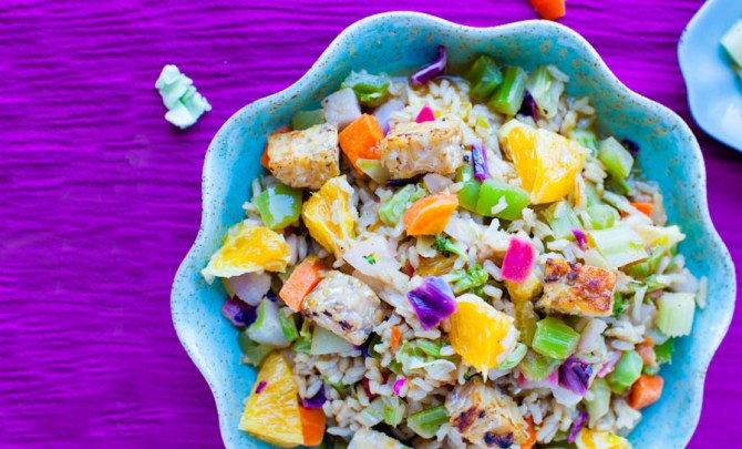 orange-ginger-tempeh-brown-rice-salad-orange-balsamic-vinaigrette-health-vegan-spry