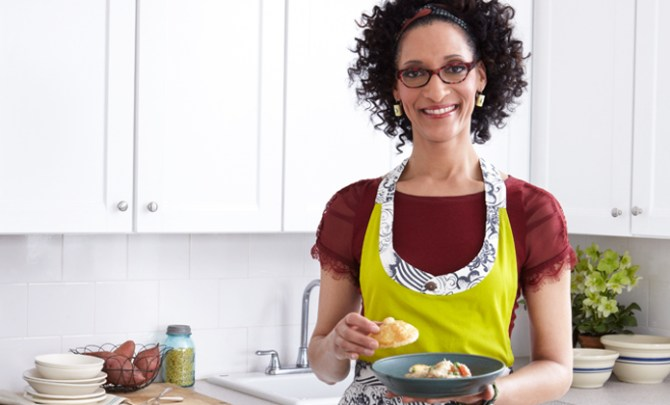 Thanksgiving tips from Carla Hall
