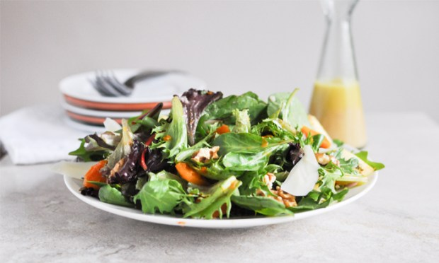 Carla Hall, The Chew star, shares her Mixed Greens and Butternut Squash Salad Recipe.