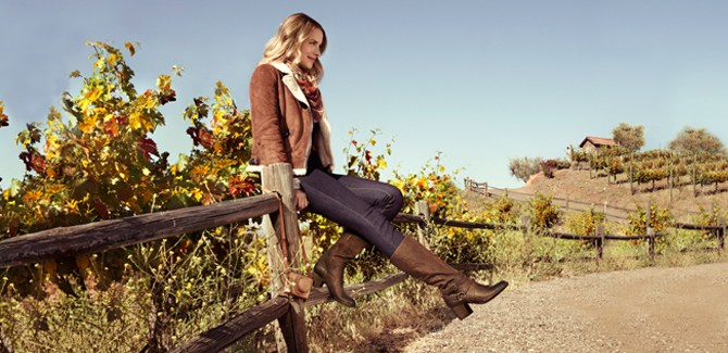 The most comfortable and stylish fall boots for Fall/Winter 2012 including Naya, Rockport.