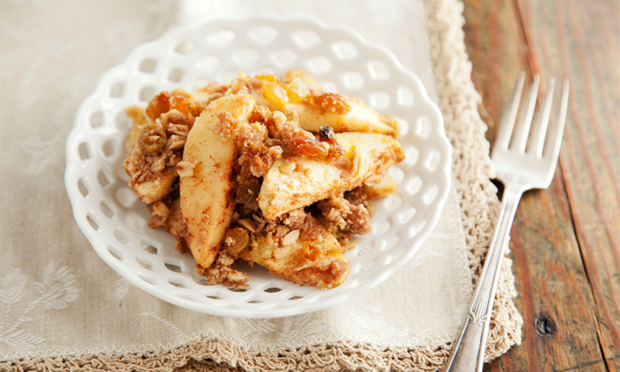 Cider Apple Crumble In A New Light Recipe Spry Living