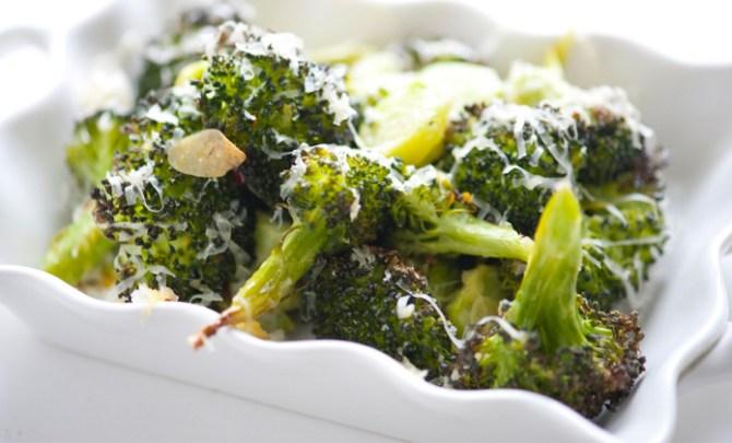 Healthy recipe for Cheddar Roastedd Broccoli.