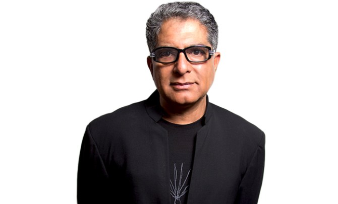 Deepak Chopra info about this motivational speaker