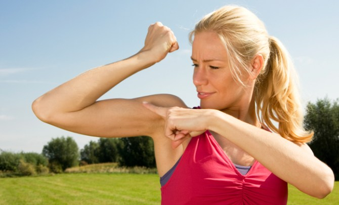 Ideas for how to feel best about your arms.