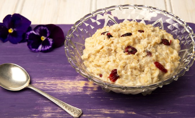 Rise and Shine Oatmeal recipe.