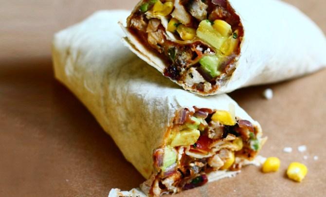 Chicken Fajita Wrap recipe