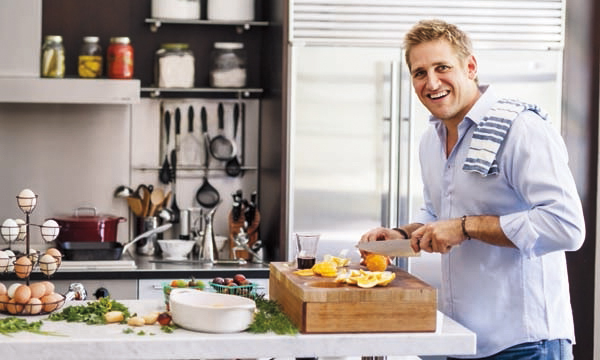 Curtis Stone shares his healthy lifestyle tips.