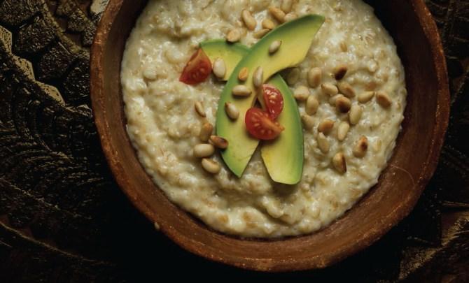 Savory-Oatmeal-Pine-Nuts-Avocado-Egg