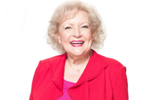 Betty White interview.
