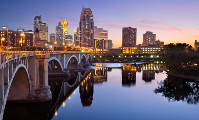 Minneapolis and St. Paul are the fittest cities in America.