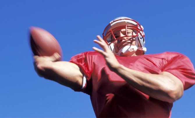 Joint replacement surgery is common with former NFL players.