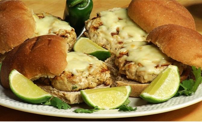 Aaron McCargo's Turkey Burgers recipe.