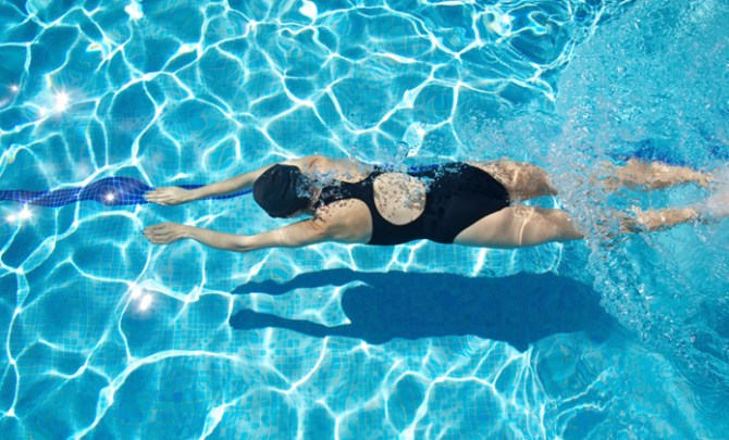 One of the best exercises for diabetics is swimming.