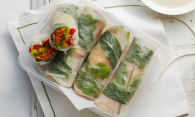Chicken-Vegetable-Rice-Paper-Rolls-Spry