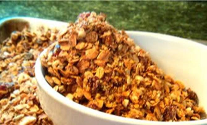 high-fiber-Granola