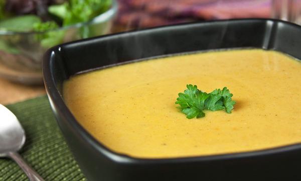 Pumpkin and Bean Soup 2