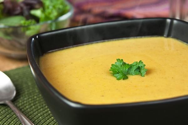 Pumpkin and Bean Soup