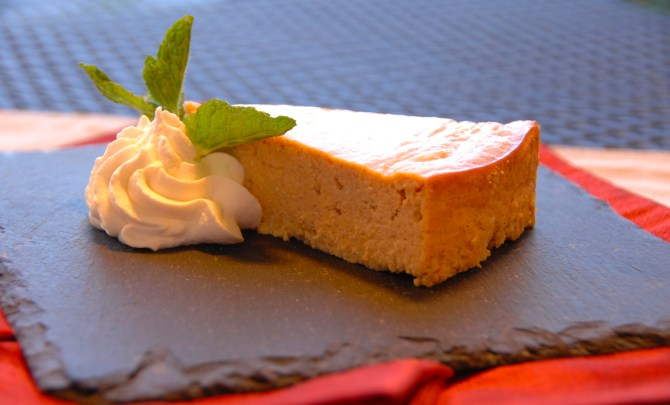 Ricotta Pumpkin Cheesecake
