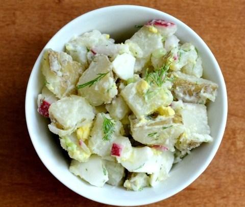 Fresh Dill Potato Salad