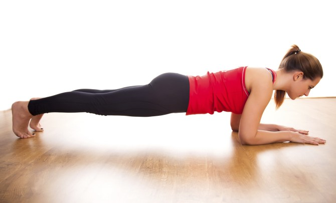 master the perfect plank