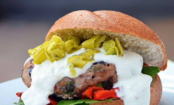 Host the Toast Greek Burger