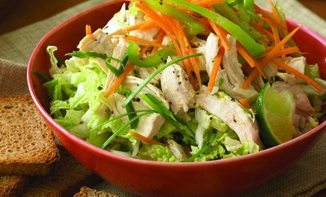 Chicken & Napa Cabbage Salad