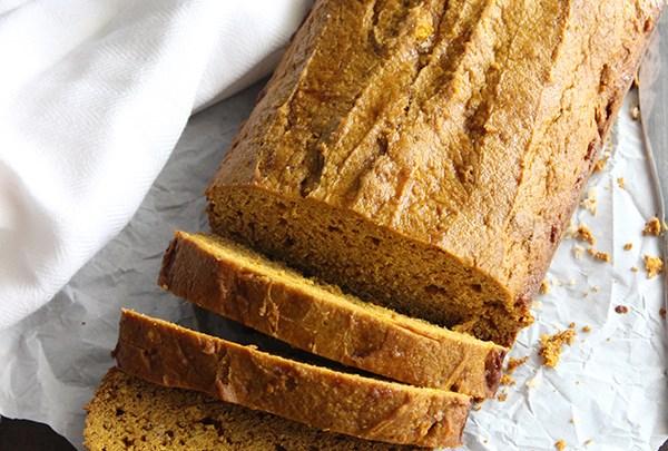 Simple Pumpkin Pie Bread