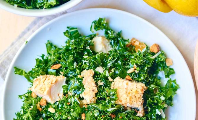 Kale-Salad-Baked-Almond-Chicken-Above