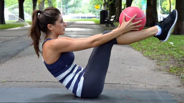 Medicine Ball Core Workout