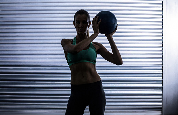 10 Toning Medicine Ball Workouts - Spry Living