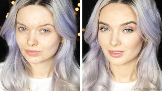 My Pale Skin Makeup Tutorial