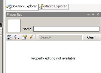No Property Editing