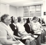 1976 General Chapter — Sisters Margaret Kern, Mary Roger, Virginia Marie and Marie William