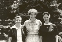 General Chapter, July 1981 — Sisters Irma Meuse, Anne Doherty and Eileen Ann Kelley