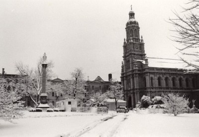 Winter of 1987: Church of the Immaculate Conception
