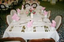 O'Shaughnessy table setting