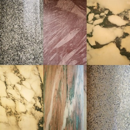 You can find many colors of marble in the Church of the Immaculate Conception. The marble is from all over the world.