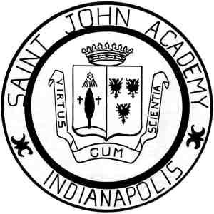 St. John Academy, Indianapolis, logo