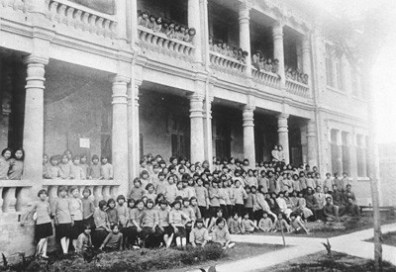 Ching I Middle School opened Sept. 12, 1932, with 87 students.