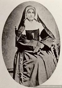 Mother Mary Cecilia was general superior of the Sisters of Providence from 1856-1868. She occupied the position following the death of the congregation's foundress, Saint Mother Theodore Guerin.