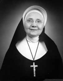 Mother Rose Angela was general superior of the Sisters of Providence from 1960-1966.