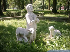 On the motherhouse grounds of the Sisters of Providence of Saint Mary-of-the-Woods, Indiana.
