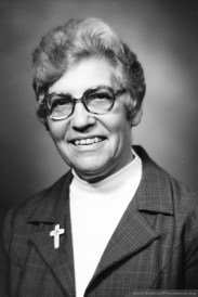Sister Loretta Schafer was general superior of the Sisters of Providence from 1976-1981.