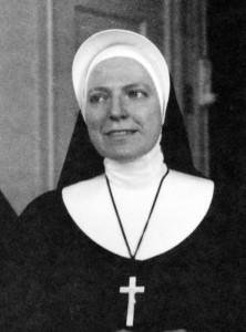 Sister Alexa in the 1960s