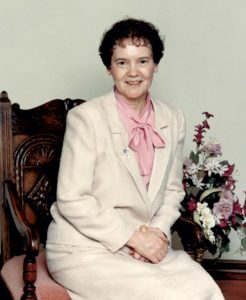 Sister Anne Doherty's official portrait as general superior