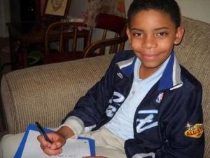 """Jamille, 10, is a """"Miracle Place kid."""""""