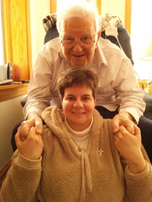 Sister Regina and her dad