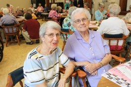 Sister Rita Clare Gerardot and Sister Anne Krause