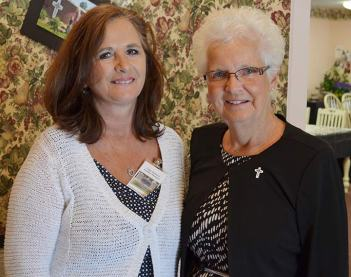 Providence Self-Sufficiency Ministries CEO, Sister Barbara Ann Zeller (right) and PSSM property manager/director of facilities maintenance Cindy Richards.
